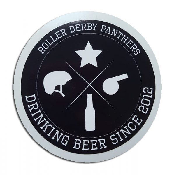 "Sticker ""Drinking Beer since 2012"" 1€"